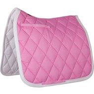 BR Saddlepad Dressage Event Luxe 400g Lollipop Pink Full