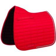 BR Saddlepad Dressage Glamour Chic Red Full