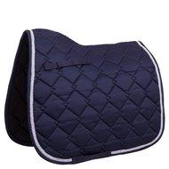 BR Saddlepad Dressage Allure Dressage Poly Wide Decorative Tape Blue