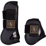 BR Tendon & Fetlock Boots & Fetlock Boots Set Pro Tech PU Neoprene Black