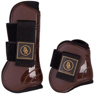 BR Tendon & Fetlock Boots & Fetlock Boots Set Pro Tech PU Neoprene Brown