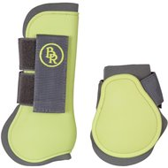 BR Tendon Protectors And Fetlock Boots Set & Fetlock Boots Set Grey/Lime