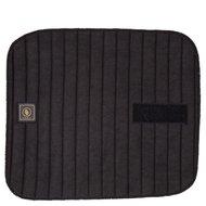 BR Onderbandages Tricot/badstof Klittenband Set Zwart 4st
