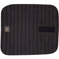 BR Sous-Bandages Tricot/Tissu Éponge Velcro Noir 4 Pièces