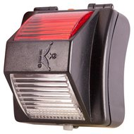 Agradi Ruiterlamp Safety Light Zwart