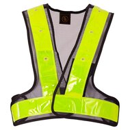 BR Vest Reflective with LED Lights Yellow