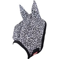 Premiere Fly Mask with Ears Animal Print Leopard Pony