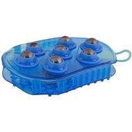 Premiere Massageborstel RVS Rollers Blauw 7