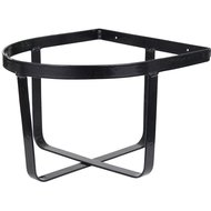 Premiere Bucket Holder Wall Mount Plastic-coated Black