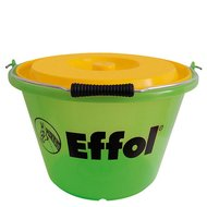 Effol Stable Bucket Green Yellow 17L