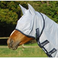 Bucas Buzz-Off Fly Mask Bleu