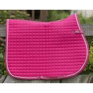 Bucas Max Saddle Pad Veelzijdigheid Cherry  Pink Full