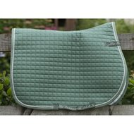 Bucas Max Saddle Pad Dressuur Hedge Green Full