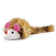 Beeztees Long Haired Hedgehog Pluche Brown / White 12x7cm