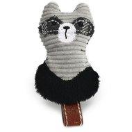 Designed By Lotte Textil Katzenspielzeug Rami Grau 9cm
