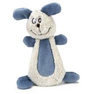 Beeztees Textiel Hondenspeeltje Bonzy Wit Blauw 15cm