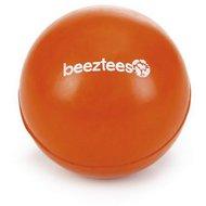 Beeztees Balle Caoutchouc Massif Orange