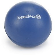 Beeztees Rubber Bal Massief Blauw