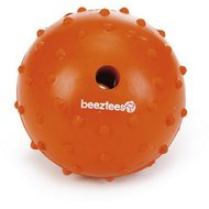 Beeztees Rubber Bal + Bel Massief Oranje