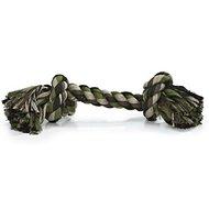 Beeztees Flossytoy 2 Knopen Camouflage Groen