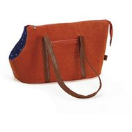 Designed By Lotte Tragetasche Caresse Orange 43x23x27cm