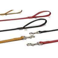 Beeztees Mac Leather Looplijn Rood