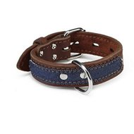 Beeztees Leren Halsband Denim