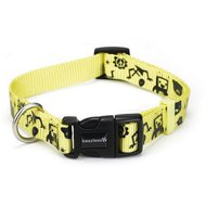 Beeztees Nylon Halsband Monster Geel