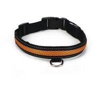 Beeztees Halsband + Usb Ruflo Zwart/Oranje