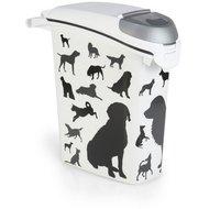 Curver Container Silhouette Hund Weiß/Schwarz