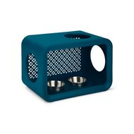 Beestees Cat Cube Dinner Blau 49x29x32,6cm