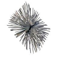 Dario schoorsteenveegborstel metaal 20x20cm