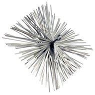 Dario schoorsteenveegborstel metaal 25x25cm