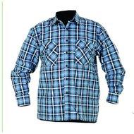 Storvik Egersund cotton shirt l/s Petrol