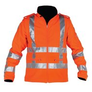 Storvik Frankton softshell jack 500s orange