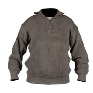 Storvik Brisbane pullover with zip 70/32 Beige