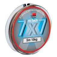 DAM Onderlijn Staaldraad 7x7 Extra Soepel 5mtr. Spoel 12kg.