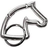 Agradi Sleutelhanger Paardenhoofd Zilver
