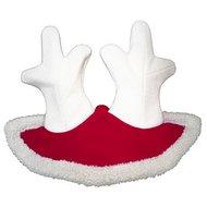 Agradi Reindeer Antler Christmas Hat Red One Size