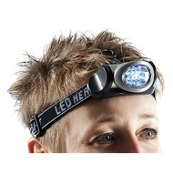 Agradi Head Light LED Black - Grey