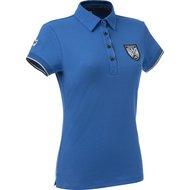 EquiThème Poloshirt Short Sleeve Cotton KinglyBlue