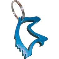 Agradi Sleutelhanger Paardenhoofd met Flessenopener Blauw