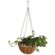 Esschert Aged Metal Hanging Basket
