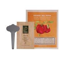 Esschert Saatpäckchen & Stecker Paprika