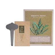 Esschert Saatpäckchen & Stecker Rucola