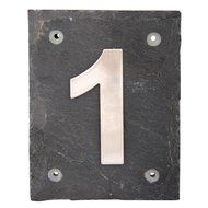 Esschert Hausnummer 1 Arial