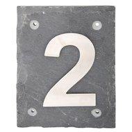 Esschert Hausnummer 2 Arial