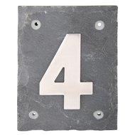 Esschert Hausnummer 4 Arial