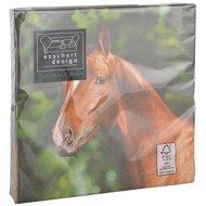 Esschert Servetten Papier Paard 33x33cm