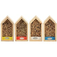 Esschert Bienenhaus Farb. Sortiert